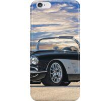 01 1958 Chevrolet Corvette iPhone Case/Skin