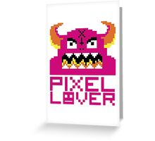 Pixellover Greeting Card
