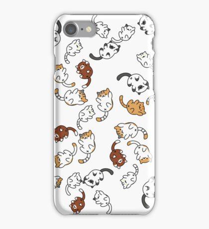 neko atsume cat party!! iPhone Case/Skin
