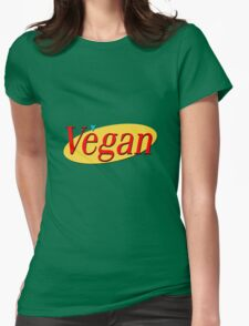 Seinfeld Vegan  Womens Fitted T-Shirt