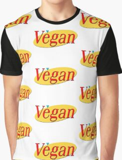 Seinfeld Vegan  Graphic T-Shirt