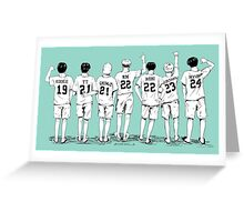 Summer Package - Name Shirts  Greeting Card