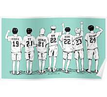 Summer Package - Name Shirts  Poster