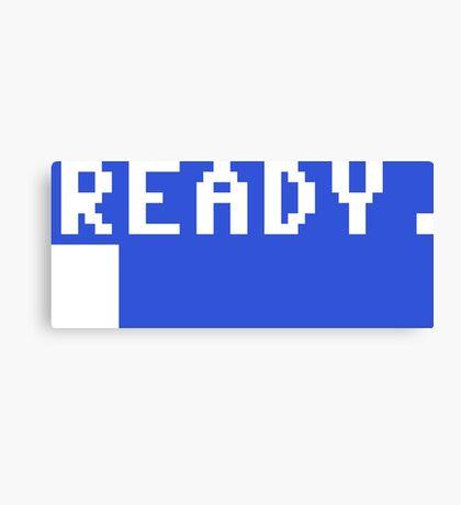 Commodore 64 - C64 - Ready. Canvas Print