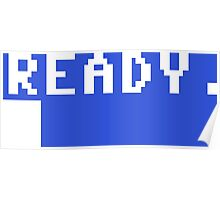 Commodore 64 - C64 - Ready. Poster