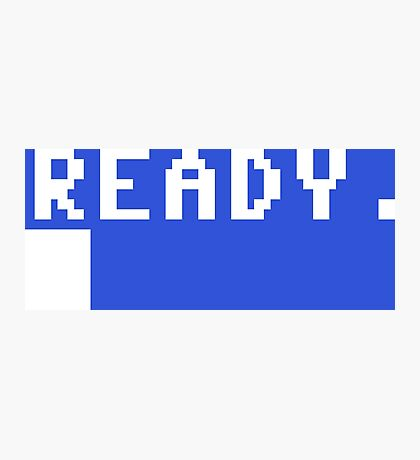 Commodore 64 - C64 - Ready. Photographic Print