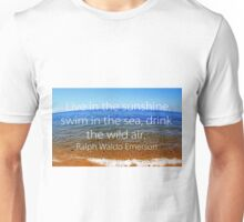 Live in the sunshine - Emerson Unisex T-Shirt