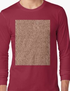 Red Snake Bark Maple Leaves  Long Sleeve T-Shirt