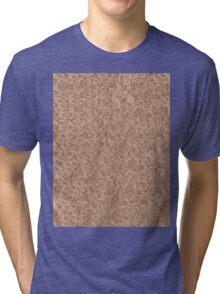 Red Snake Bark Maple Leaves  Tri-blend T-Shirt