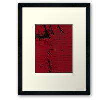 Reddened Black Maple  Framed Print
