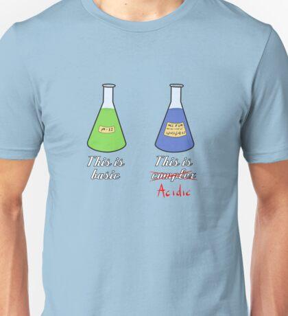 Basic and com... acidic Unisex T-Shirt