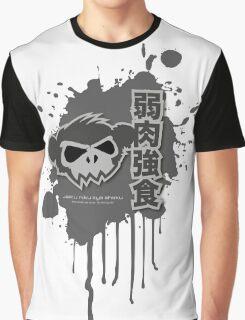 Zombie Monkey Mono Graphic T-Shirt