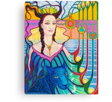 Spirit Guide ~ Selmutee of Lemuria Canvas Print