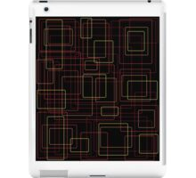 Flame boxes on black iPad Case/Skin