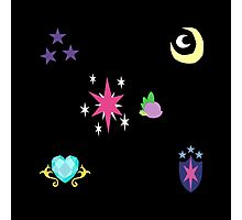My little Pony - Sparkle Family Cutie Mark Special Photographic Print