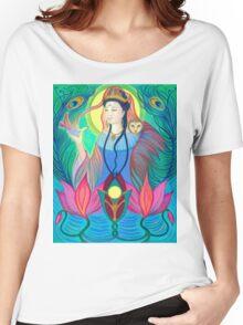 Spirit Guide ~ Quan Yin Women's Relaxed Fit T-Shirt