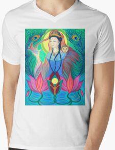 Spirit Guide ~ Quan Yin Mens V-Neck T-Shirt