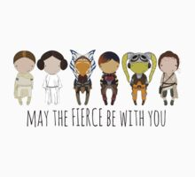May the Fierce Be With You: The Fierce Awakens Kids Clothes