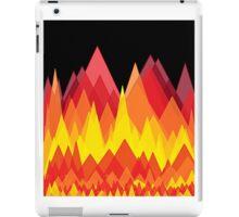 Flame mountains iPad Case/Skin
