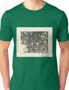 Civil War Maps 1700 Spotsylvania May 8-21 1864 Unisex T-Shirt