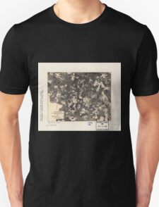 Civil War Maps 1700 Spotsylvania May 8-21 1864 T-Shirt