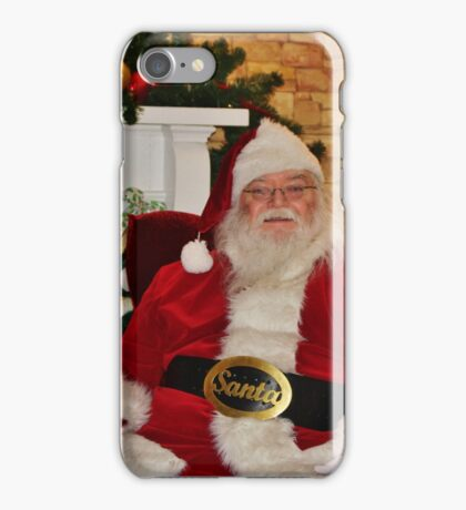 Man In Red Suit iPhone Case/Skin
