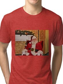 Man In Red Suit Tri-blend T-Shirt