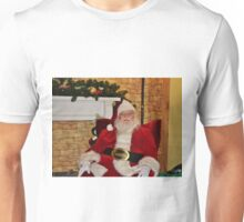 Man In Red Suit Unisex T-Shirt