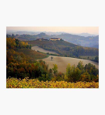 Langhe hills Photographic Print