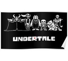 Undertale Family Poster