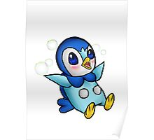 Adorable Piplup! Poster