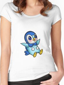 Adorable Piplup! Women's Fitted Scoop T-Shirt
