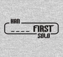 HAN SOLO _ _ _ _ FIRST - Spoiler Attack One Piece - Long Sleeve