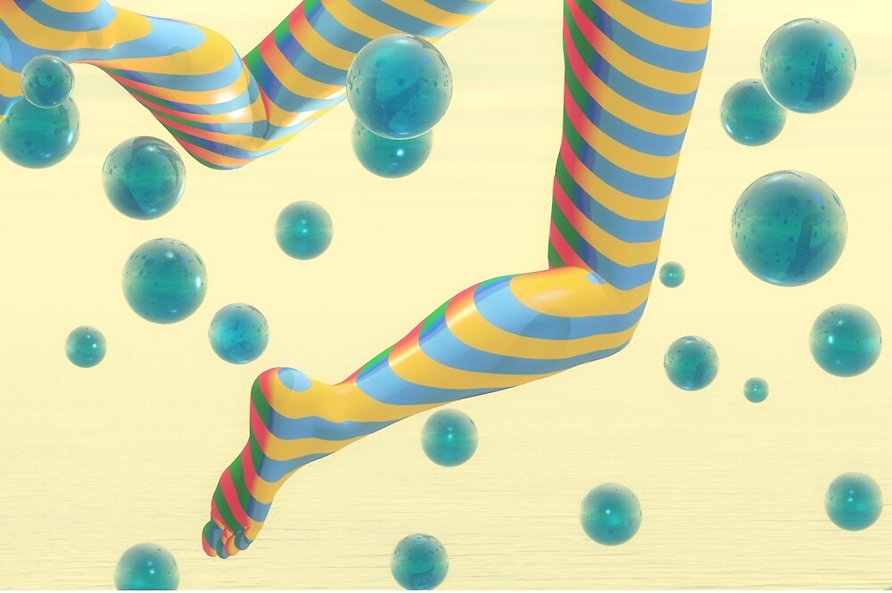 Striped stockings by Carol and Mike Werner