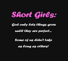 Short Girls Womens Fitted T-Shirt