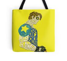 Watchmen - The Comedian - Typography  Tote Bag