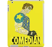 Watchmen - The Comedian - Typography  iPad Case/Skin
