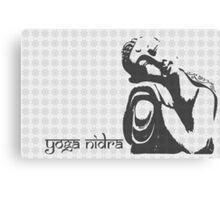Yoga Nidra - Buddha Graphic Canvas Print