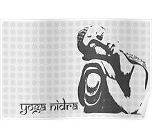 Yoga Nidra - Buddha Graphic Poster