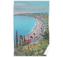 Cactus Beach Poster