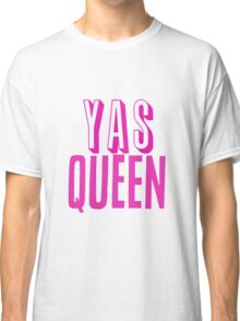 Yas Queen Hot Pink Classic T-Shirt