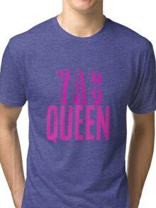 Yas Queen Hot Pink Tri-blend T-Shirt
