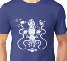 Gargantuan Space Squid Danger Imminent Unisex T-Shirt