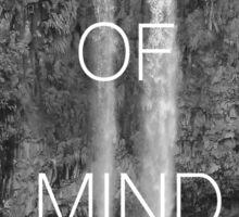 Peace of Mind Sticker