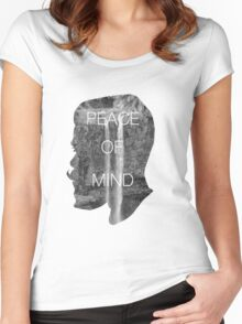 Peace of Mind Women's Fitted Scoop T-Shirt