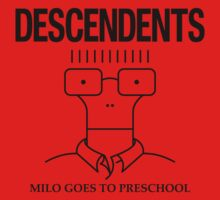 The Descendents Milo Goes to Preschool & Mug Design One Piece - Short Sleeve