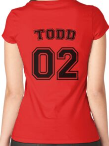 Jason Todd Sports Jersey Women's Fitted Scoop T-Shirt