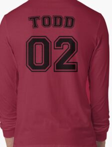 Jason Todd Sports Jersey Long Sleeve T-Shirt