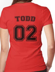 Jason Todd Sports Jersey Womens Fitted T-Shirt