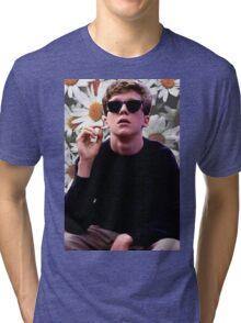 Brian Breakfast Club Daisies Design Tri-blend T-Shirt